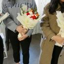 [부산플로리스트 1월취미반]쁘띠꽃다발수업,졸업꽃다발 수업(2월취미반모집중)