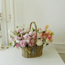 [부산당일꽃배달]컬러배색꽃…