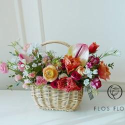 [부산당일꽃배달]핑크 오렌…